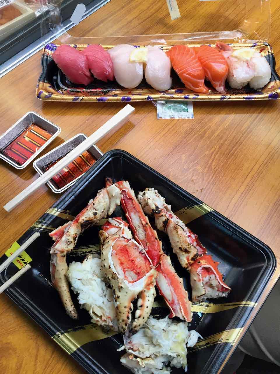 Kuromon Ichiba Sea Food Market Osaka