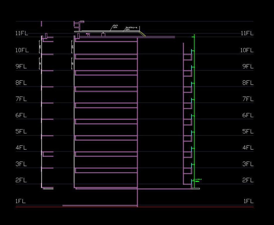組み立て用図面データ(3)*断面