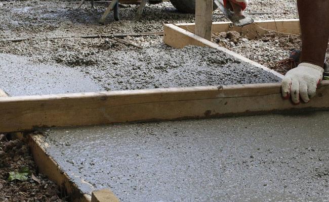 hacer Pavimentos de hormigón