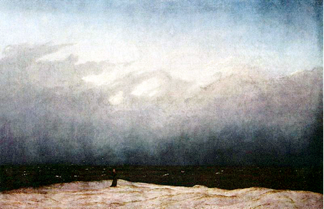 Caspar David Friedrich: Mönch am Meer