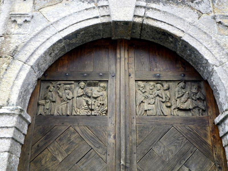 Détail porte Guimaec