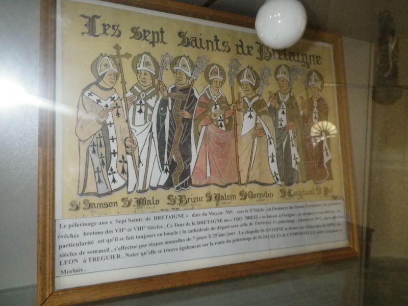 Chapelle St Antoine - Plouezoc'h - les 7 Saints
