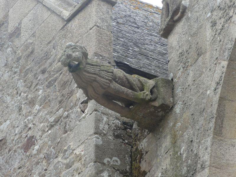 gargouille - Cathédrale St Etienne  - Lamballe
