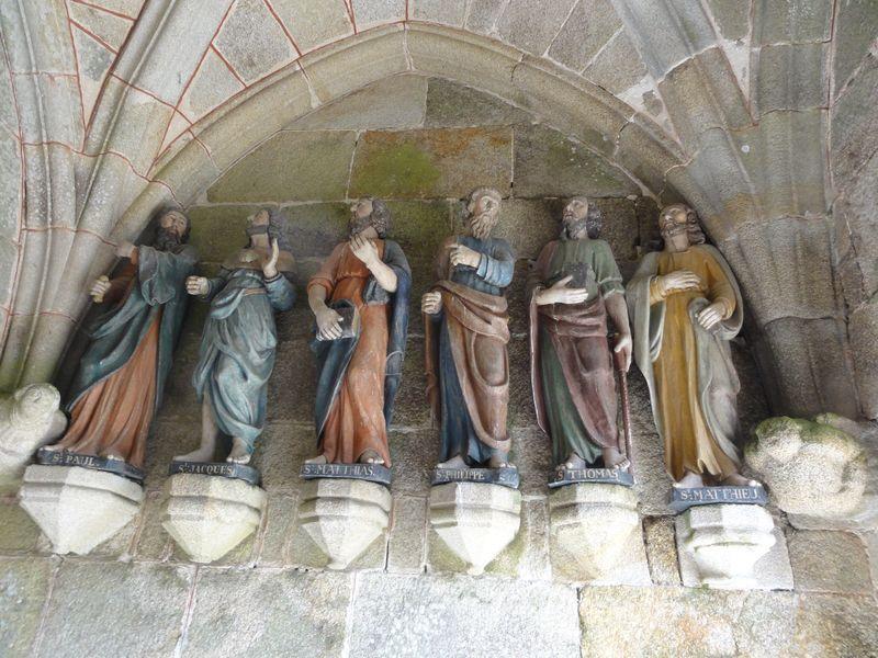 Porche Trédrez Locquémeau - 6 apôtres
