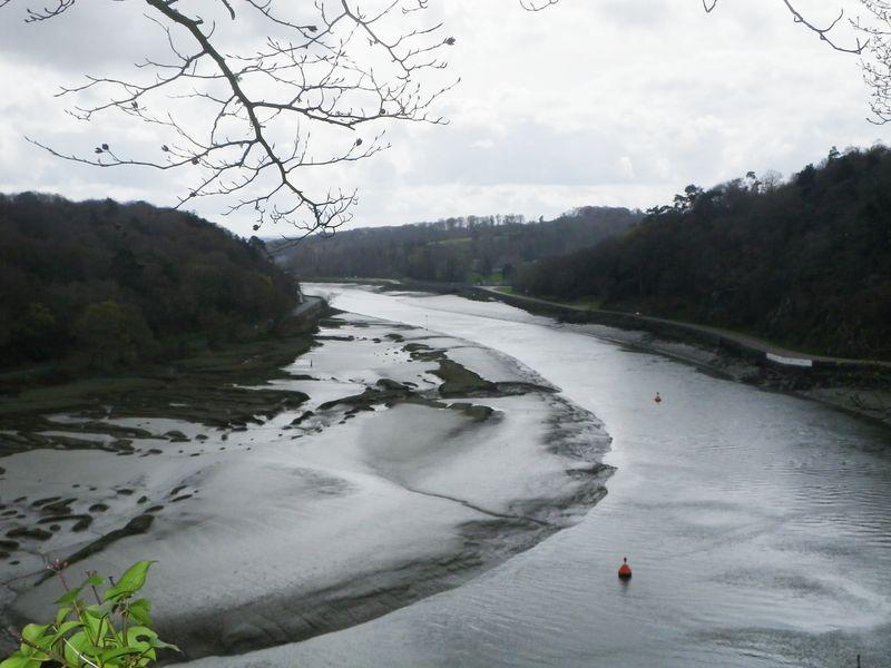 vue sur la Rivière de Morlaix - Castel an Trebez