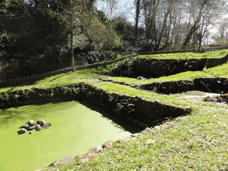 La Roche Jagu - bassin de rouissage