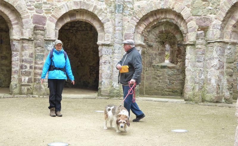 Temple de Lanleff - avec le guide