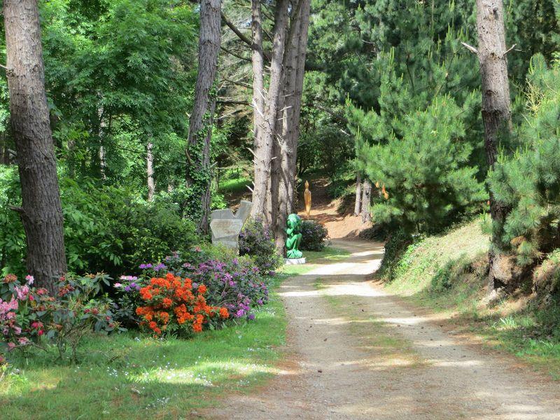 Entrée du Parc Antoine Kito