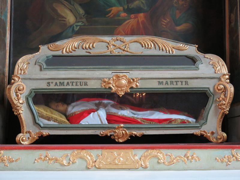 Reliques St Amateur - Eglise St Jean - Lamballe