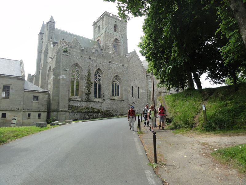 départ de la cathédrale