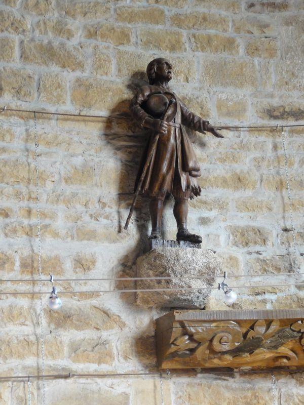 Le pauvre - Chapelle St Antoine - Plouezoc'h