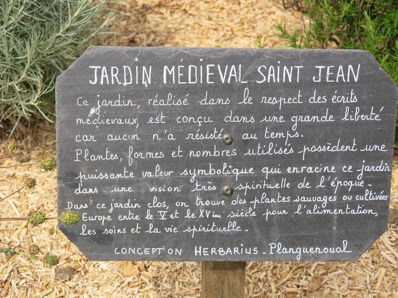 Jardin Médiéval - Lamballe