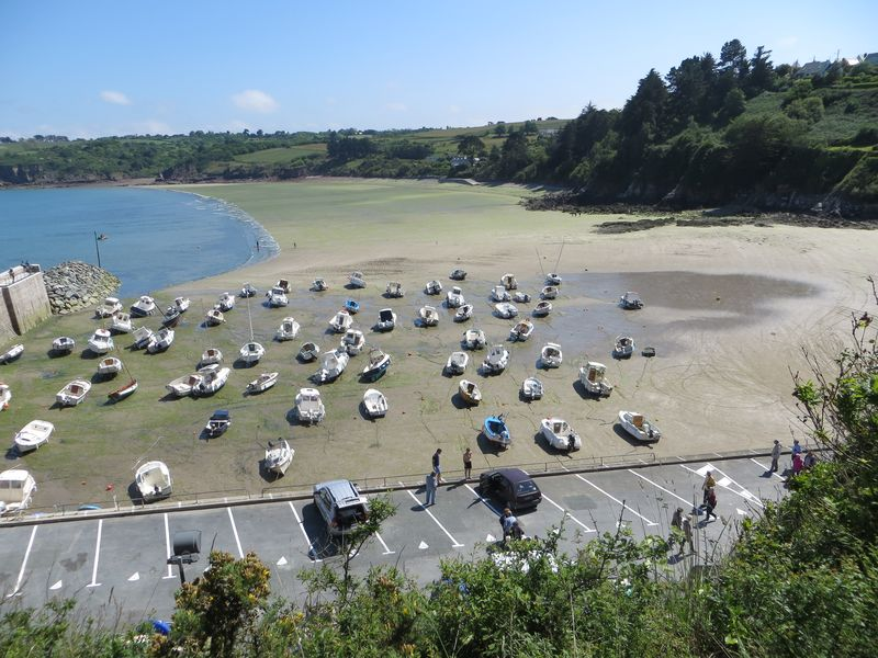 Port et plage - Bréhec