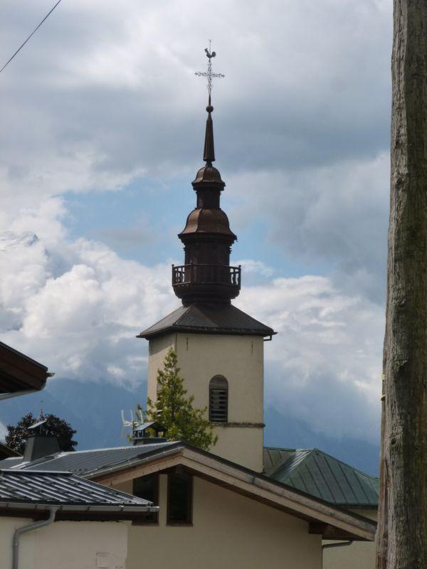 L'église d'Argentière