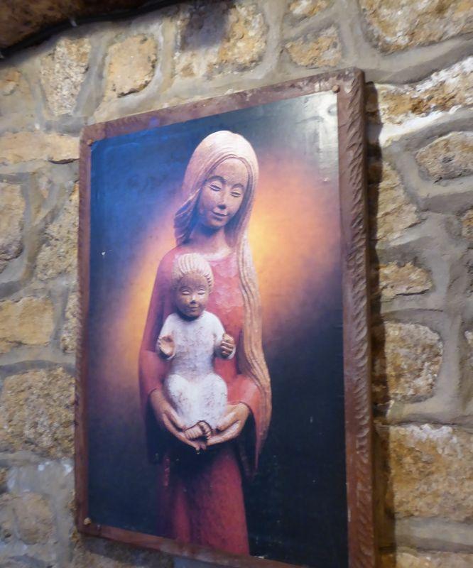 Vierge - Chapelle du Yaudet