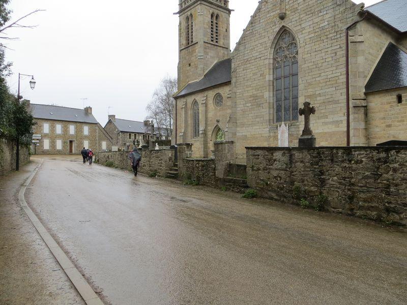 Eglise St Bergat - Pouldouran