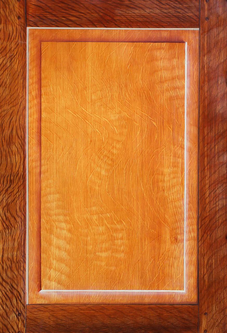 Imitation Chêne moyen et foncé - Pascale Richert
