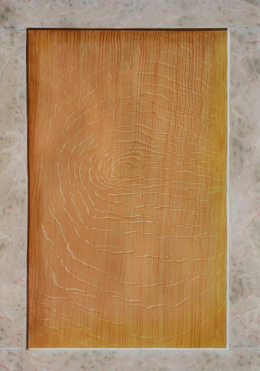 Imitation Chêne clair et marbre Comblanchien - Pascale Richert