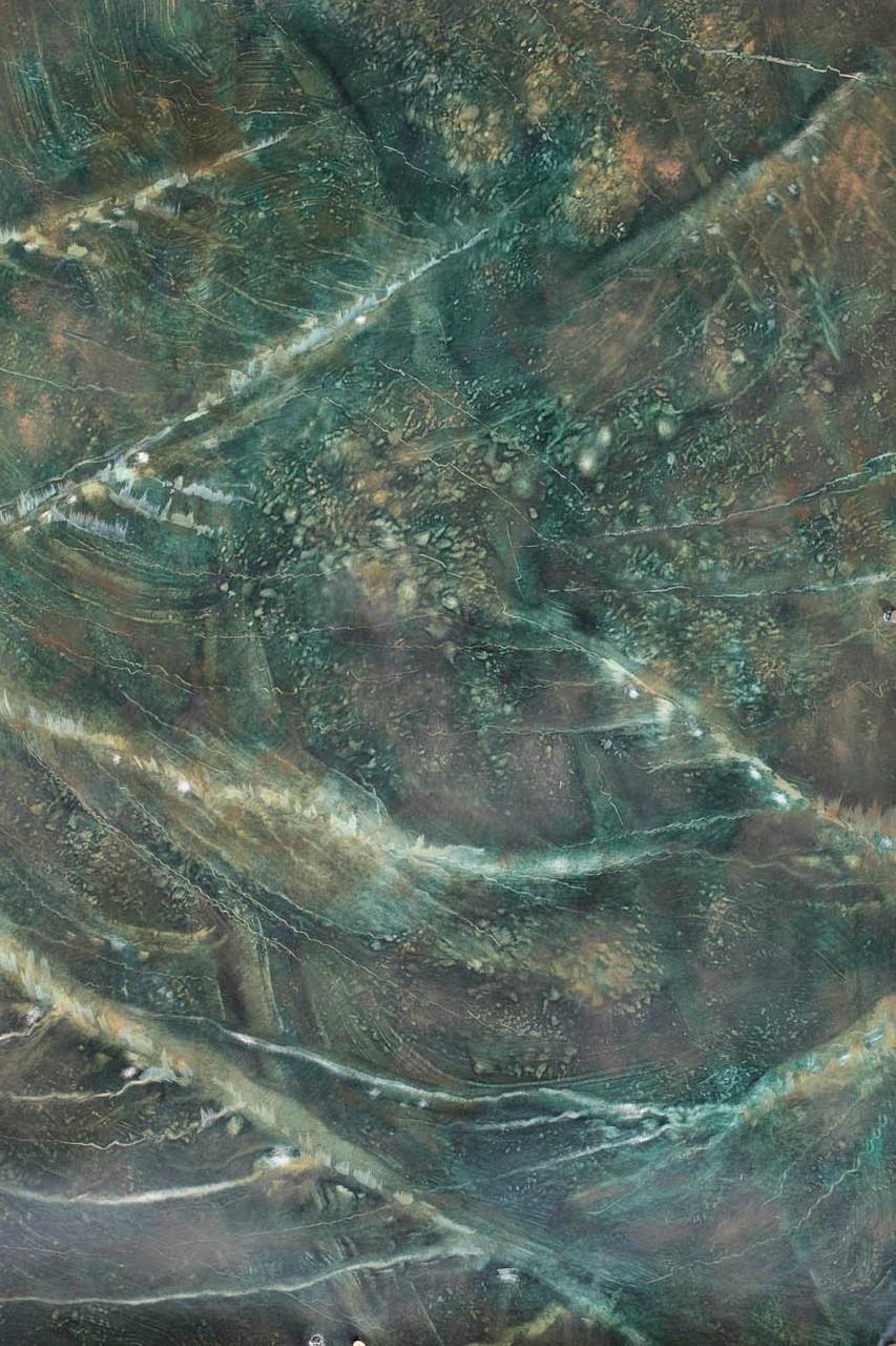 Imitation marbre Vert de mer - Pascale Richert