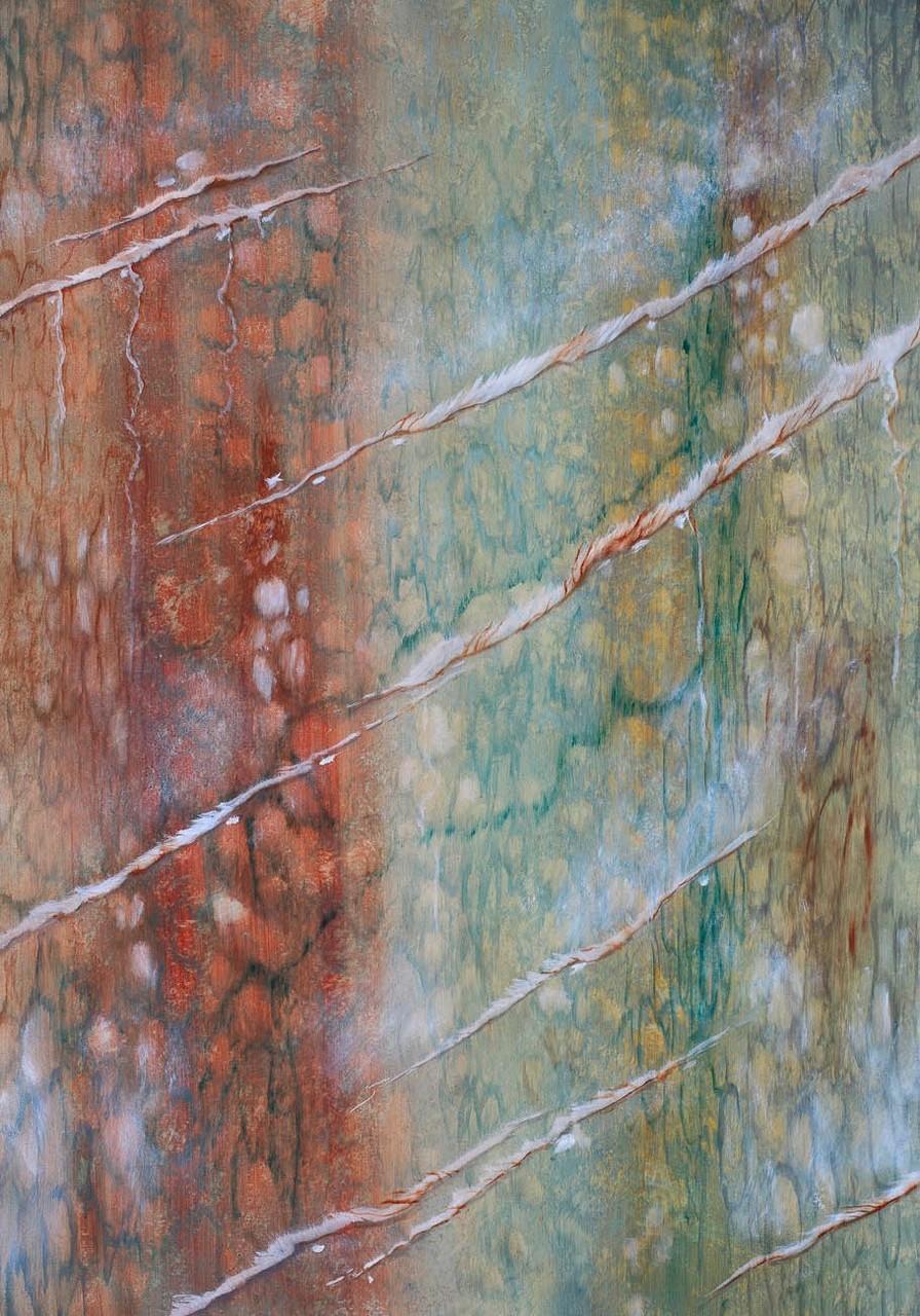Imitation marbre Vert Campan - Pascale Richert