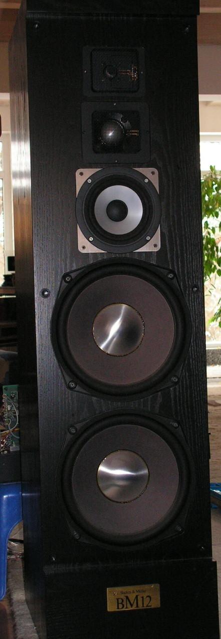die BM 12 mit ungeregeltem Mitteltöner - klang schauderhaft