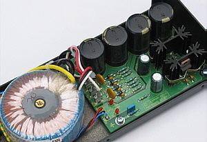 Lehmann Audio SE Netzteil offen