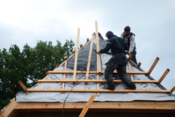 Die Dachdeckerei