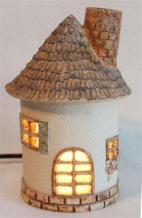 ハウスのアロマランプ