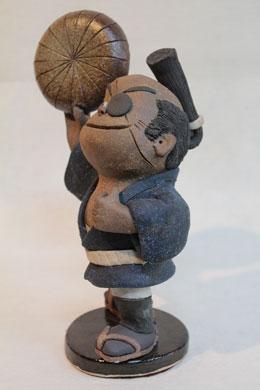 森の石松人形「いよー、日本一」左向き