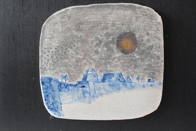天空の城(陶板)№4アップ