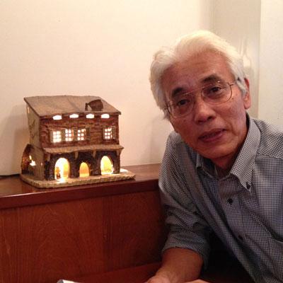 陶芸教室の講師、仲田康生です。