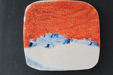 天空の城(陶板)№2アップ