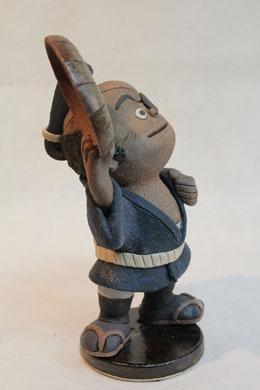 森の石松人形「いよー、日本一」右向き