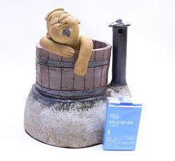 山頭火の香炉「ファー、いい気持ち」大きさ