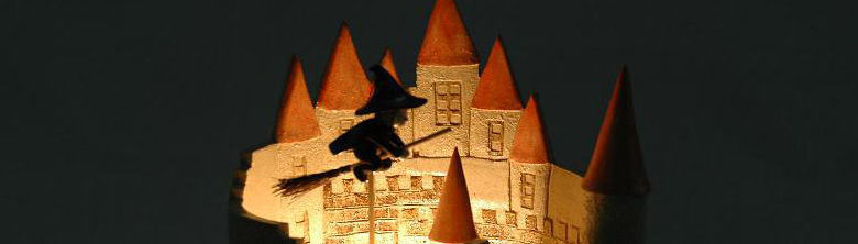 ヨーロッパのお城と魔法使い