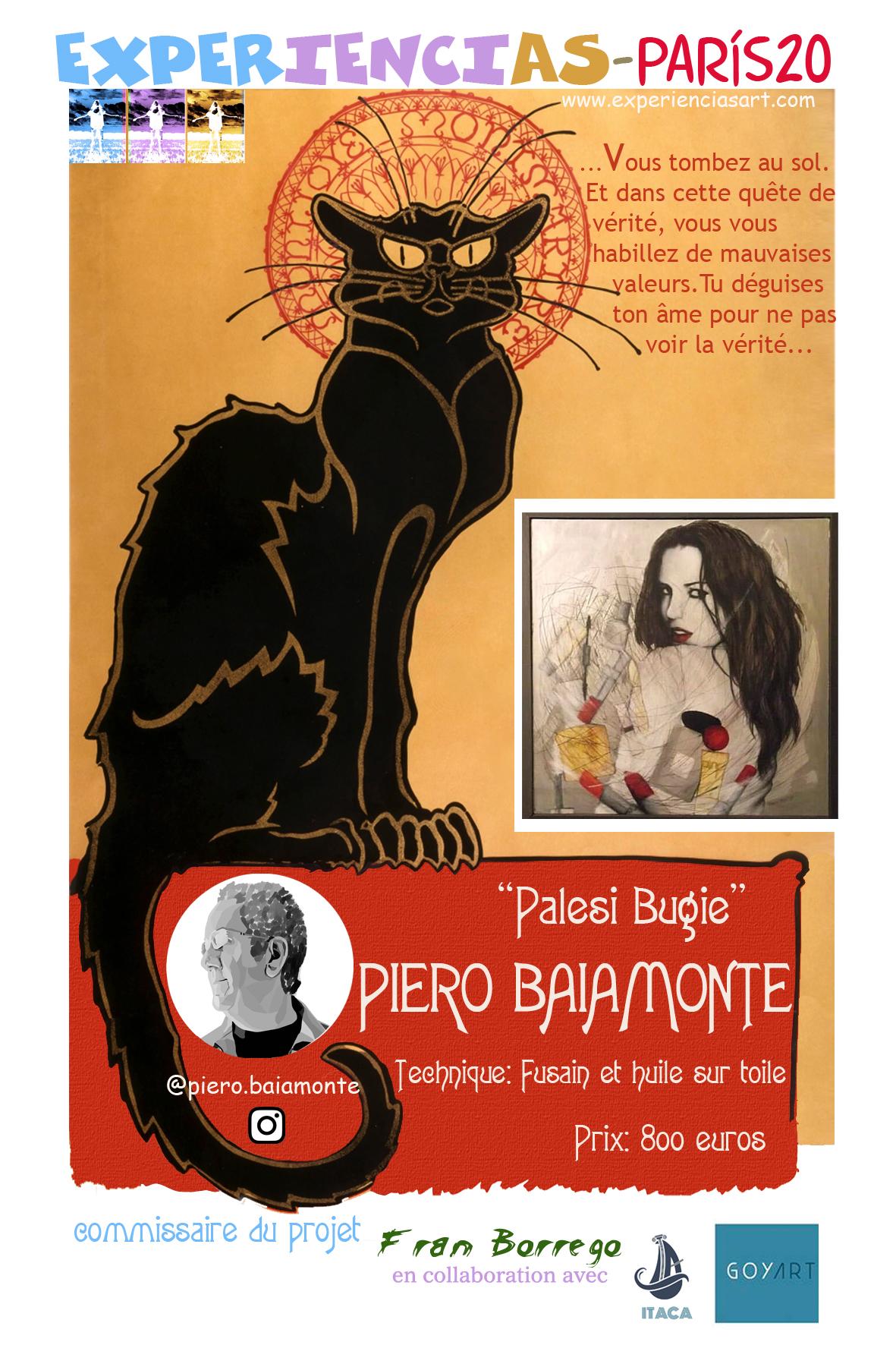 """PIERO BAIAMONTE- """"Palesi Bugie"""""""