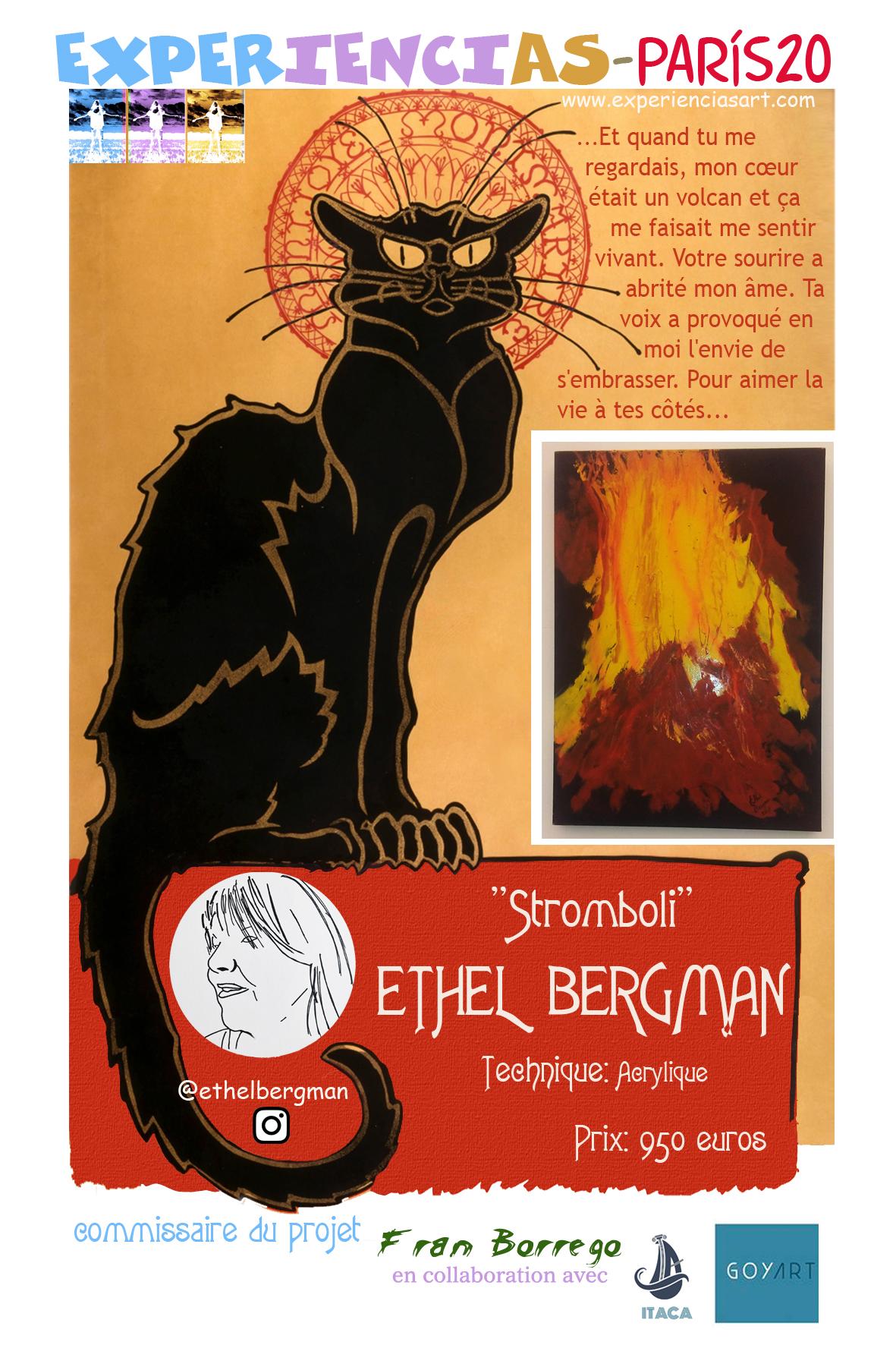 """ETHEL BERGMAN- """"Stromboli"""""""