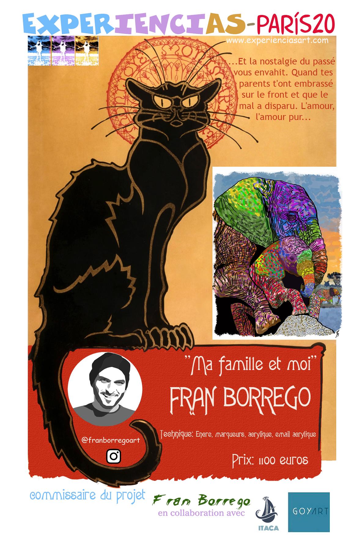 """FRAN BORREGO- """" Ma famille et moi"""""""