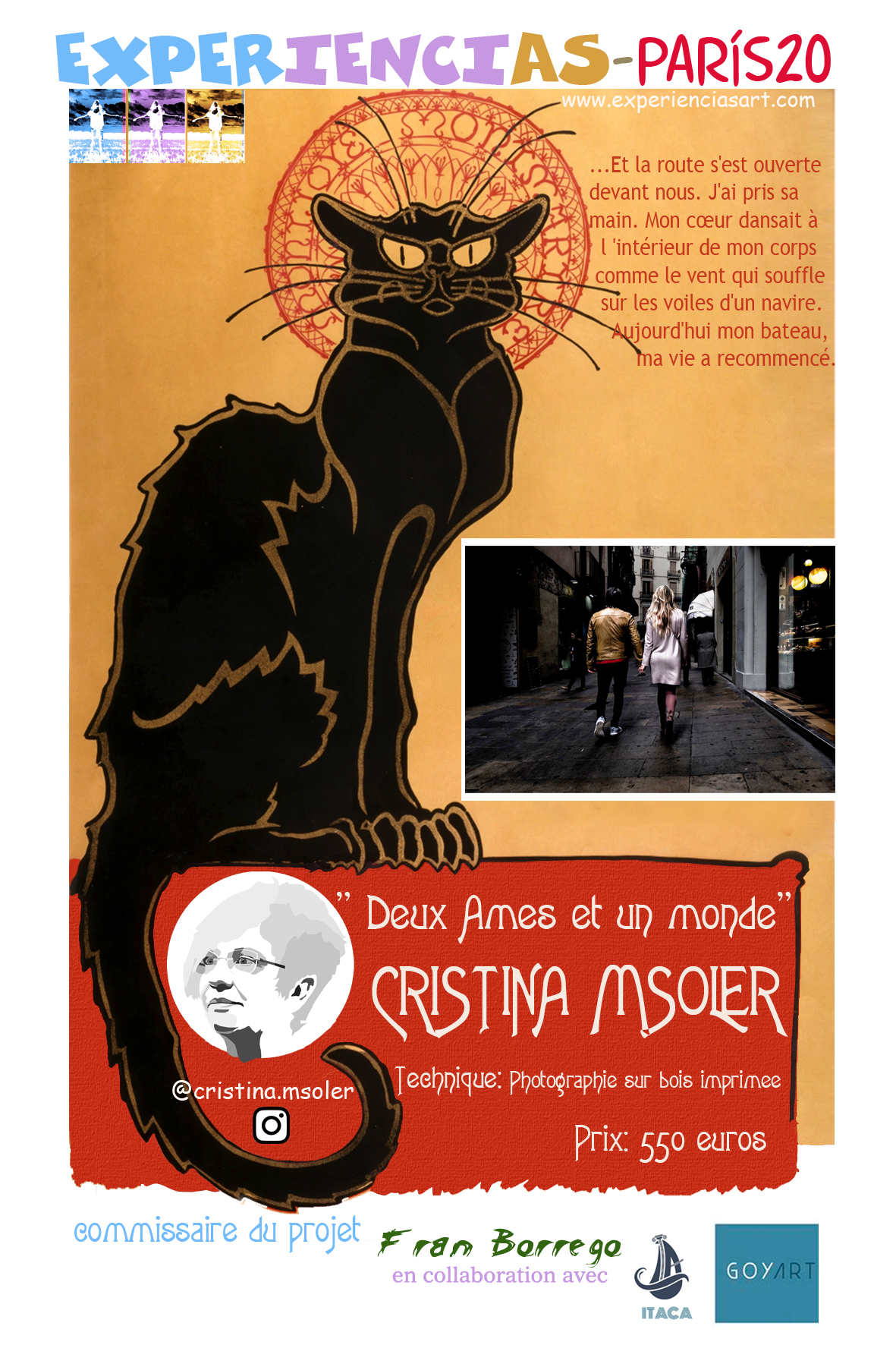 """CRISTINA MSOLER- """"Deux ames et un monde"""""""