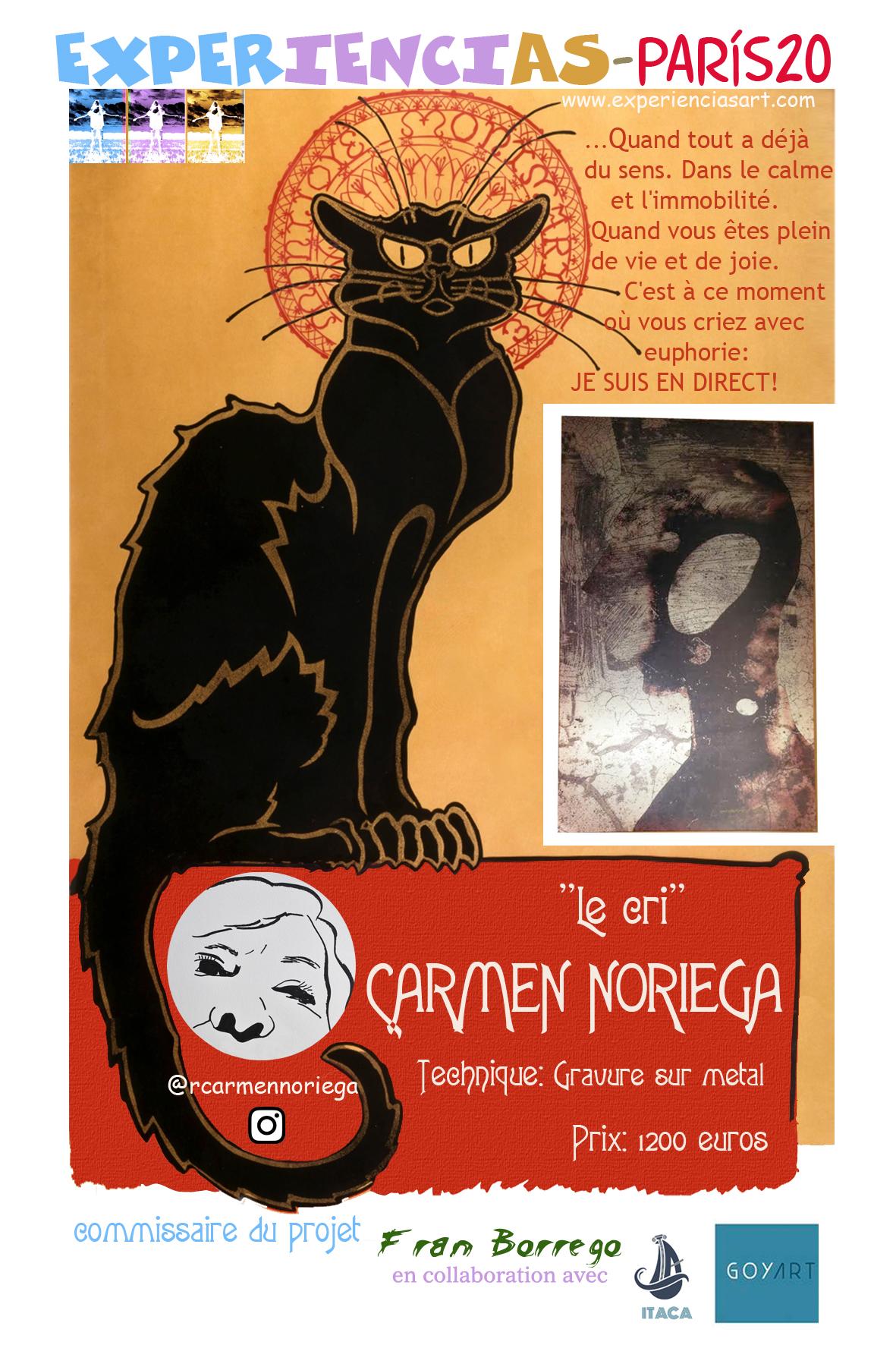 "CARMEN NORIEGA- ""Le cri"""