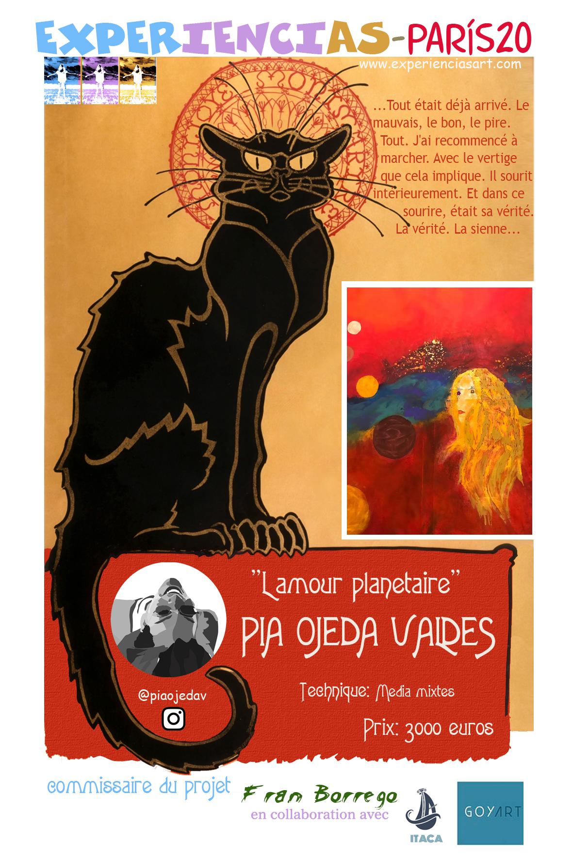 "PIA OJEDA-""Lamour Planetaire"""