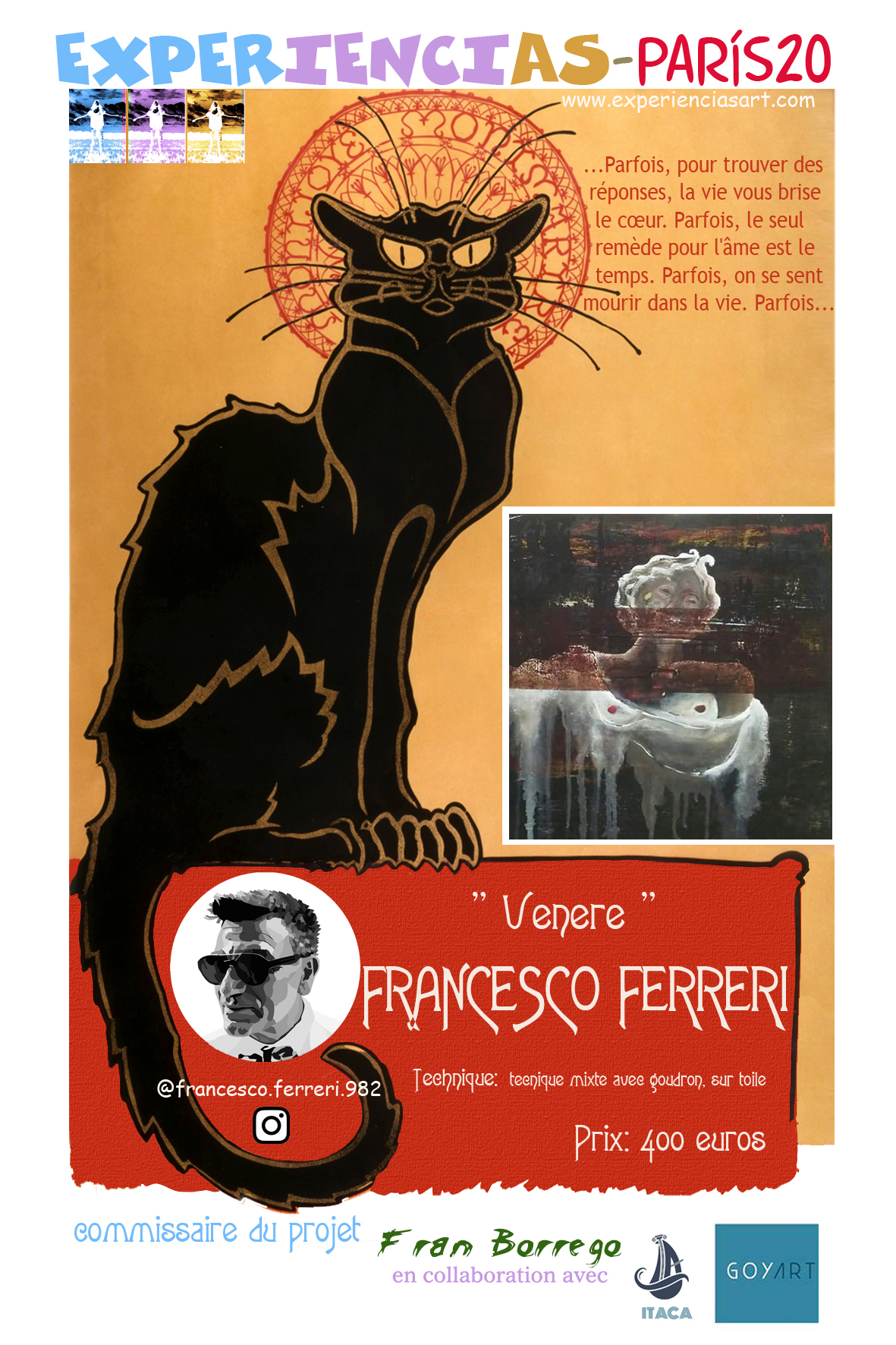 """FRANCESCO FERRERI- """"Venere"""""""