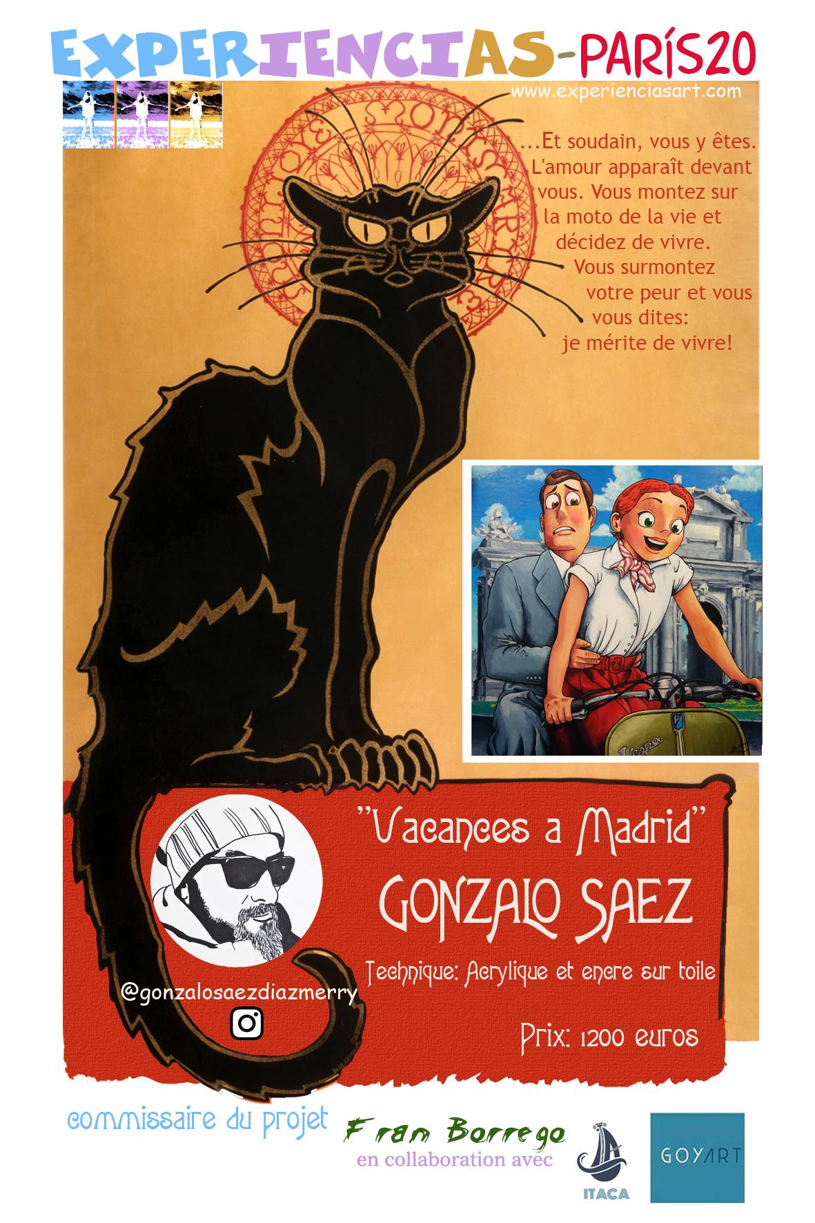 """GONZALO SAEZ- """"Vacances a Madrid"""""""