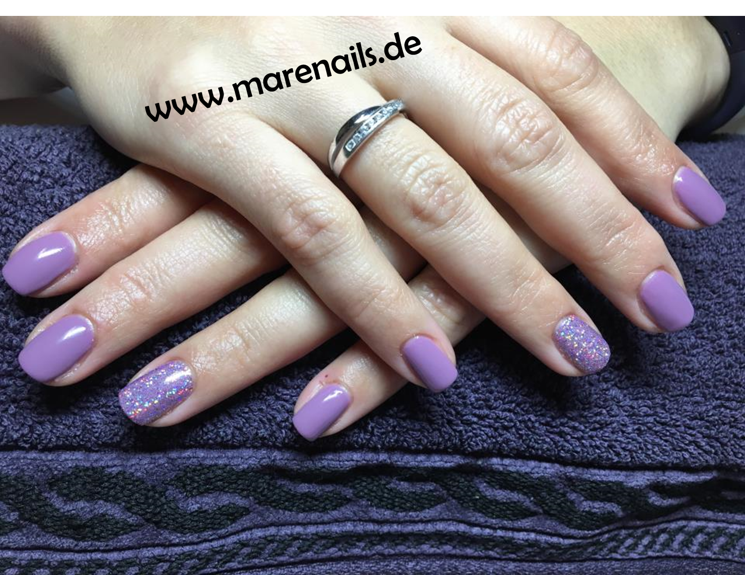 Lilac Eclipse mit Holographic Glitter