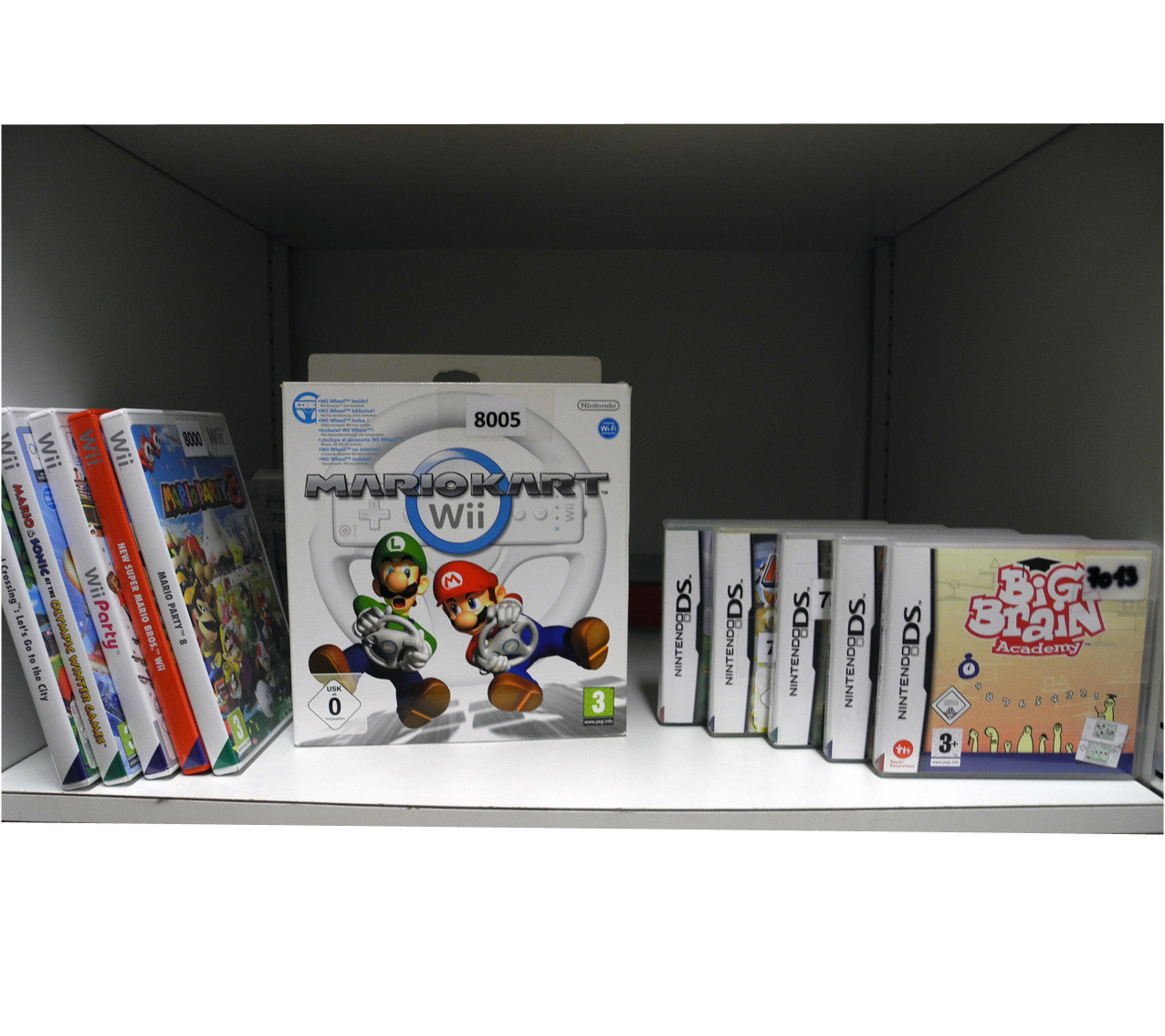 Wii Spiele + Nintendo