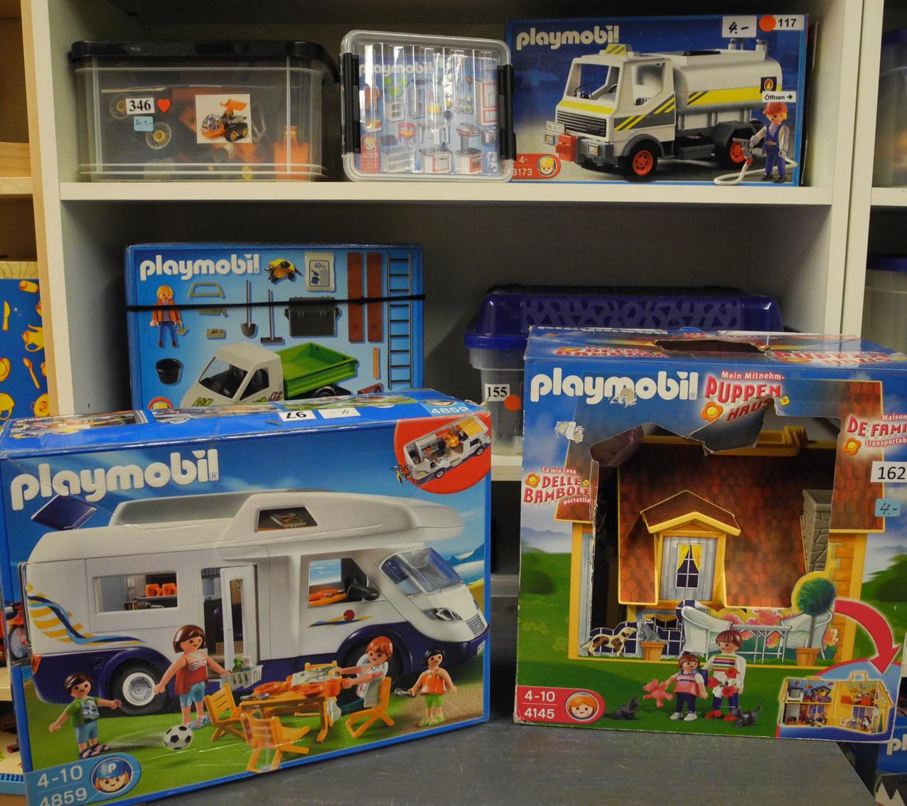 Playmobil, Lego-Duplo