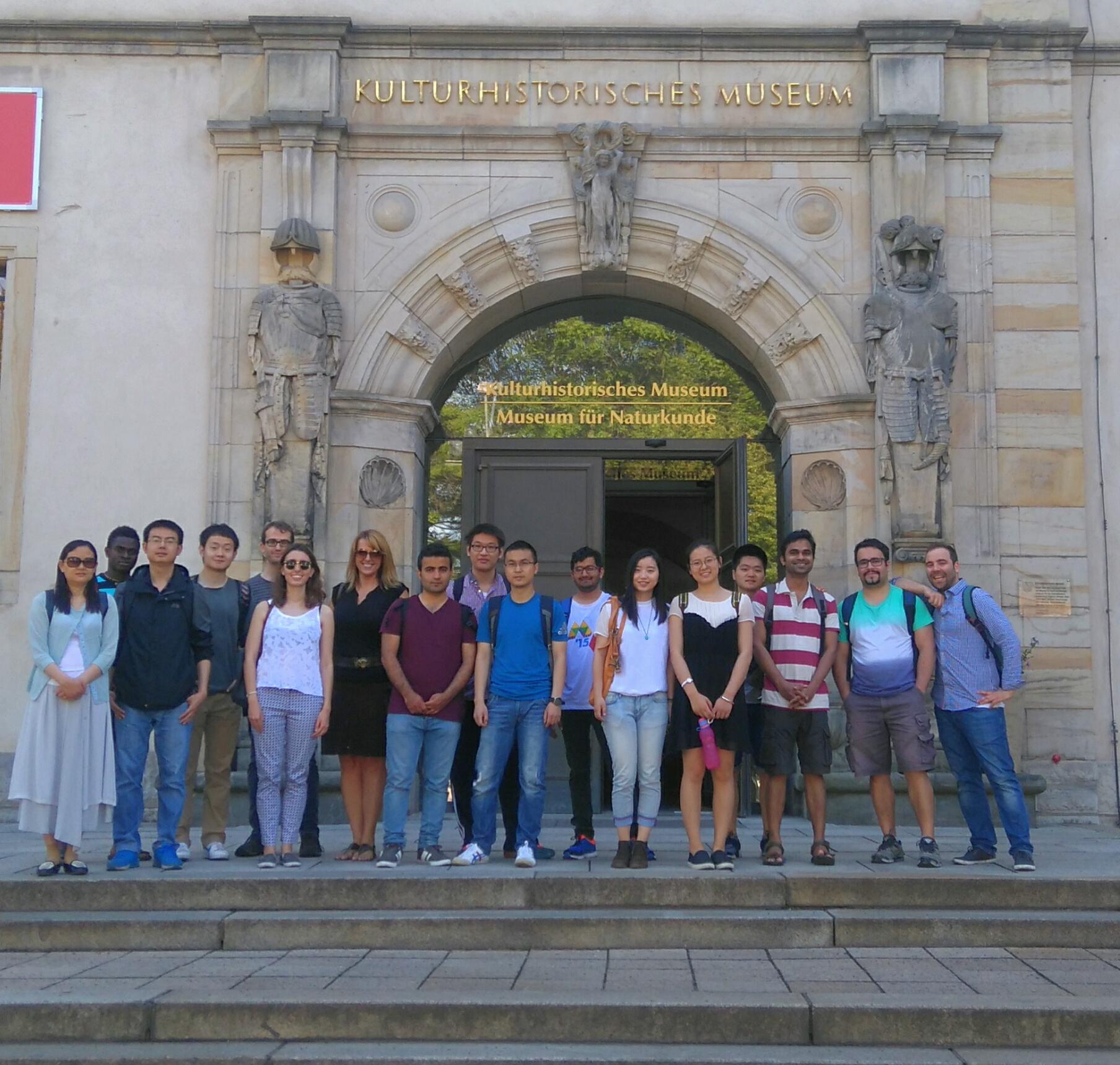 Unsere Schüler im Museum