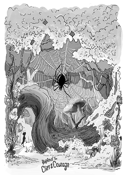 insects, book illustration, books cover , drawing, chapter illustration, fantasy, epic, spiders, heroes, story, novel, kindle book