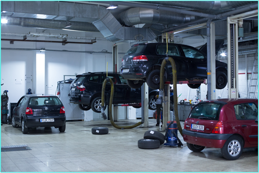 Reparatur Auto-Eicke