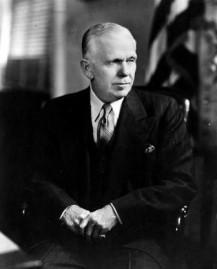 Marshall als Außenminister 1948 (Bild: Truman Library)